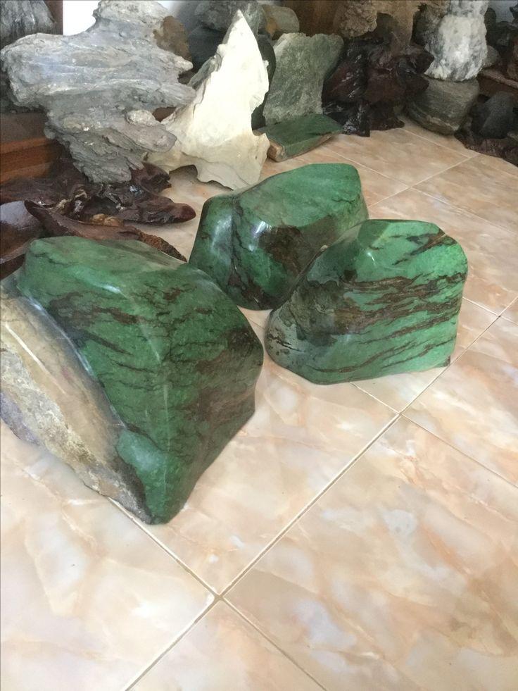 Nephrite jade from indonesia