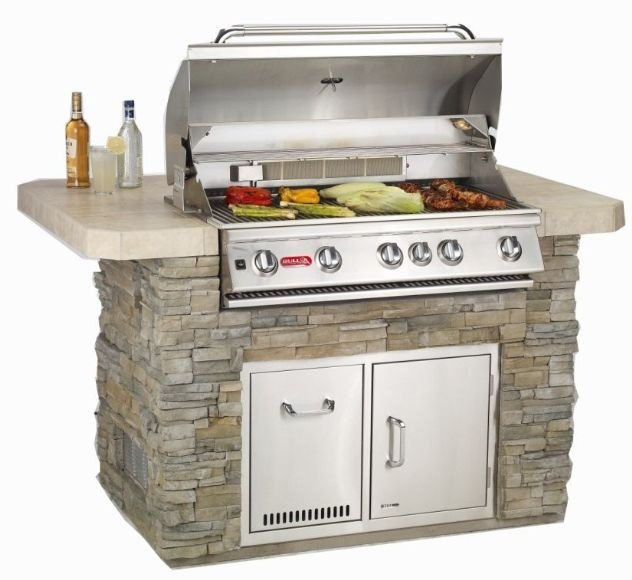 Bull Outdoor Kitchen Grilling Island W Built In Grill