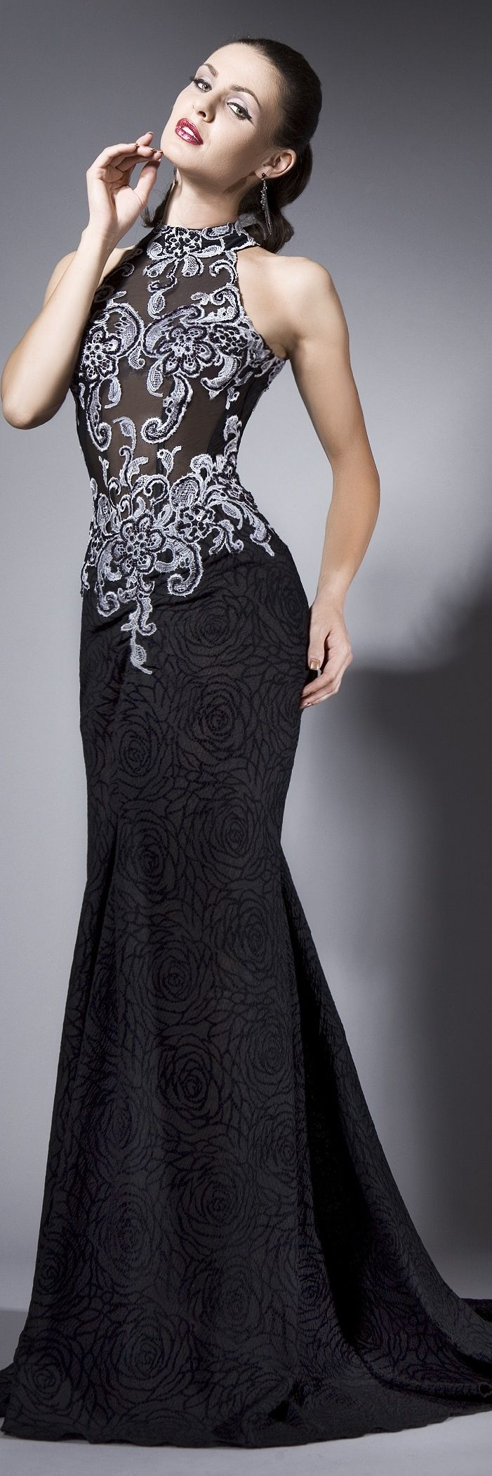 Bien Savvy - haute couture 2013. Black Dress #2dayslook #sasssjane #BlackDress www.2dayslook.com