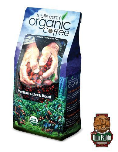 Cafe Don Pablo Subtle Earth Organic Gourmet Coffee Medium-dark Roast Whole Bean. 2 Lb Bag - http://goodvibeorganics.com/cafe-don-pablo-subtle-earth-organic-gourmet-coffee-medium-dark-roast-whole-bean-2-lb-bag/
