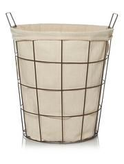 George Home Wire Laundry Basket