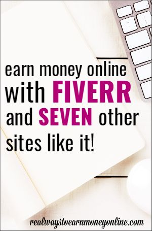 Micro jobs are a great way to earn extra money, or even a full-time income, from  home. Here's a list that includes Fiverr (the most popular of these sites) and 7 other similar sites you can use.
