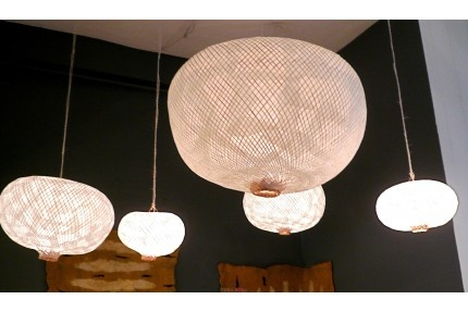 Suspension moon de paola navone for the home pinterest for Grosse suspension luminaire