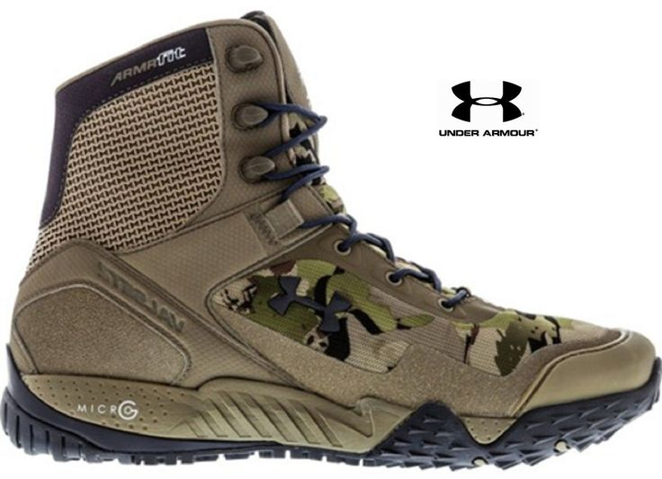 Under Armour Valsetz RTS Tactical Boot - Men's UA All-Terrain Lightweight Boots