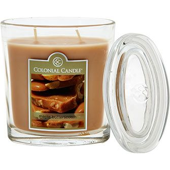 Colonial Candle  Maple & Butterscotch Fragrant Candle