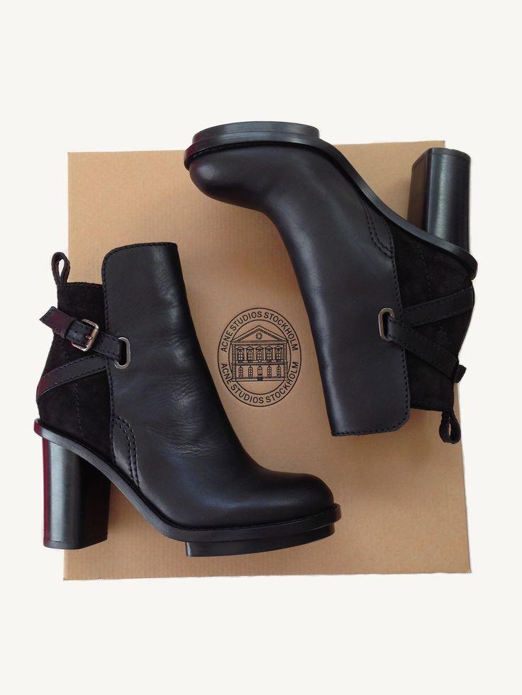 ACNE boots aie aie c'est beau de rêver
