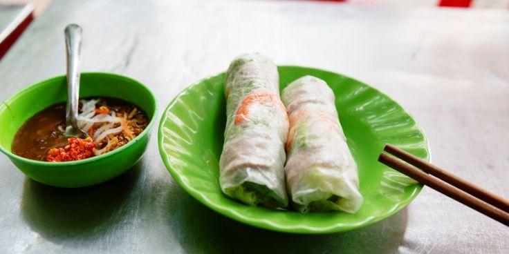 8x Vietnamees eten in Amsterdam