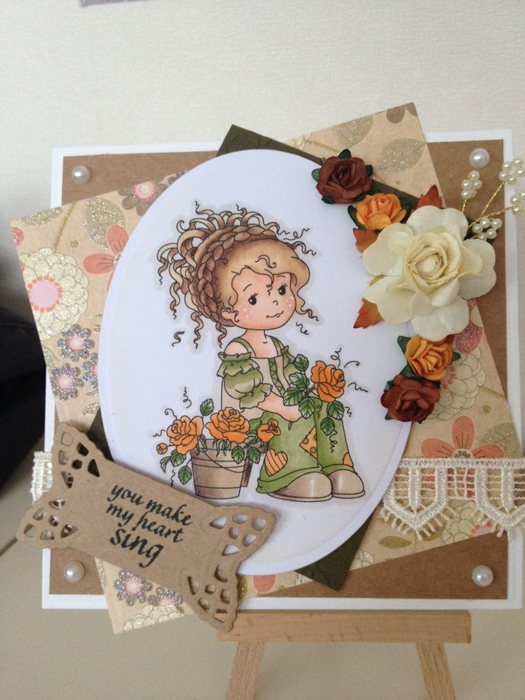 wee stamps wee florist - Google Search###