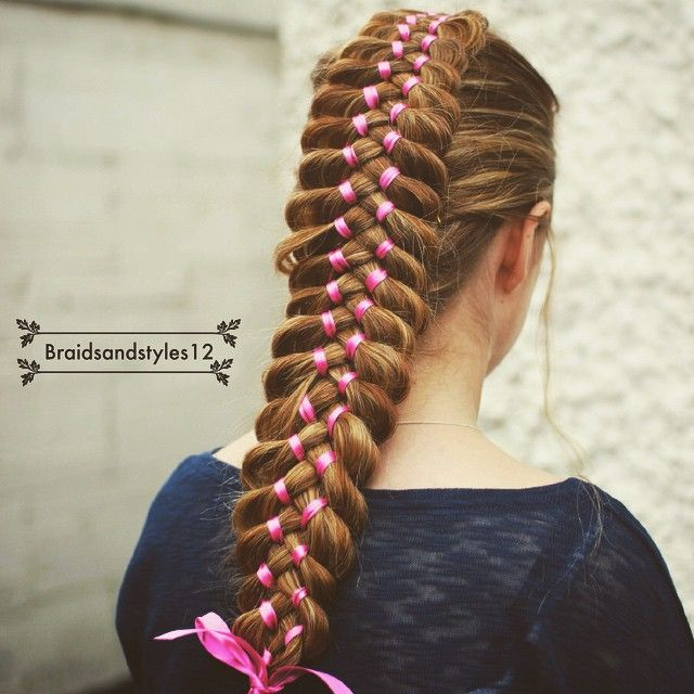 337 Best Braids 5 Strands And Up Images On Pinterest