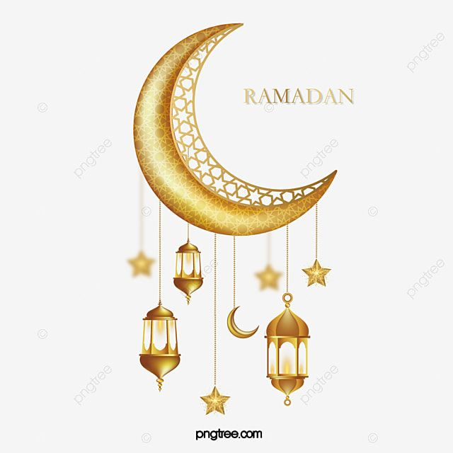Gambar Bulan Ramadan Bintang Tiga Dimensi Emas Dekorasi Lentera Clipart Emas Keemasan Ramadan Png Dan Vektor Dengan Latar Belakang Transparan Untuk Unduh Gra Star Lanterns Lanterns Decor Floral Cards Design