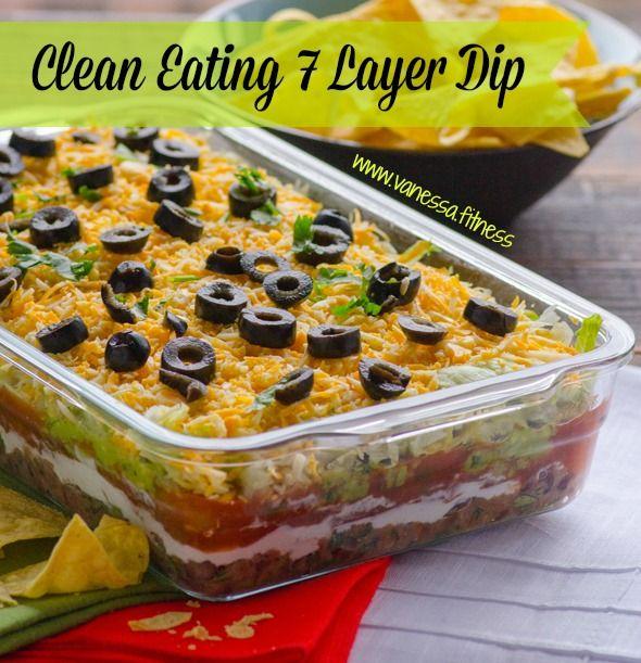 Clean Eating 7 Layer Dip