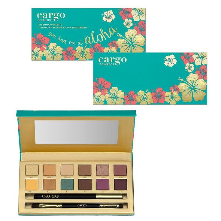Just bought this today!!! Cant wait for it to get here!!! CARGO You Had Me At Aloha Eyeshadow Palette, Multicolor