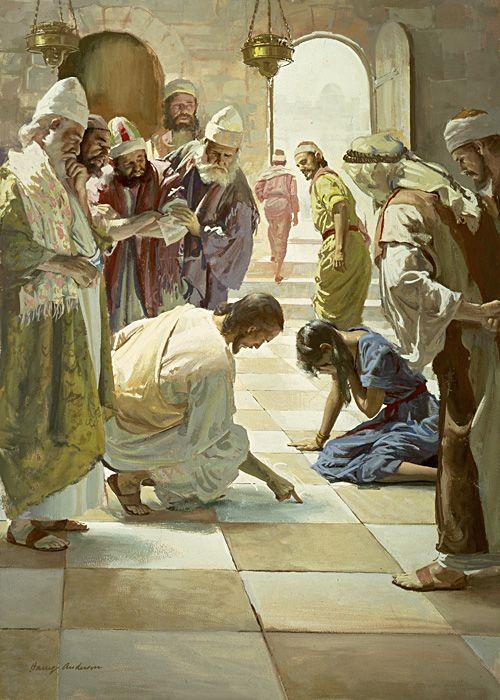 The Woman Taken in Adultery John 8:1-11