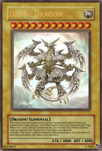 printable yugioh cards free | Elemental Dragon Cards - Realistic Cards - Archetypes and Sets ...