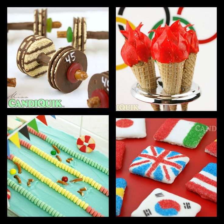 Olympic snacks for party