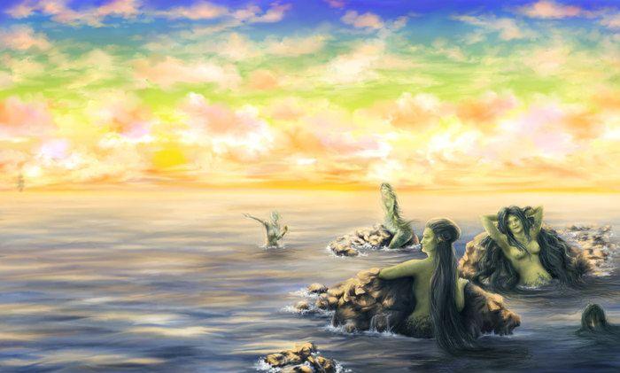 Русалки  IrinaSovetova Русалочка / Little Mermaid / die kleine Meerjungfrau / den lille Havfrue /  la Sirenita /  リトルマーメイド  /인어 공주 /   η Μικρή Γοργόνα