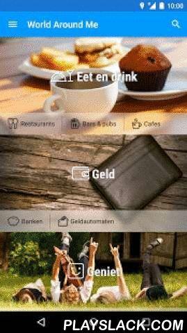 World Around Me  Android App - playslack.com ,  World Around Me - WAM - is de perfecte tool voor reizigers, toeristen of lokale bewoners die alles willen weten over wat er om hen heen is.Ontdek plaatsen door gewoon te wijzen met je telefoon om je heen, en voel je thuis op elke plek van de wereld! Laat WAM je meenemen op een opwindende reis naar de plekken om je heen.WAM wordt aangeraden door:* BBC Click* National Geographic Traveller – Beoordeeld als top reizigersapp* The GuardianLanceer WAM…
