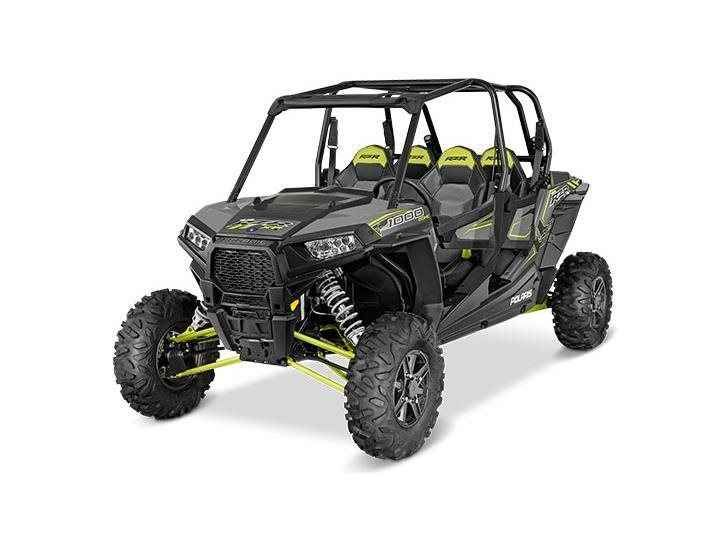New 2016 Polaris RZR XP 4 1000 EPS ATVs For Sale in Florida. 110 hp ProStar® 1000 H.O. engineExclusive Walker Evans needle shocksHigh-flow clutch intake system