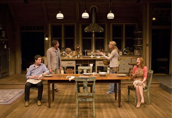 Poor Behavior by Theresa Rebeck @ Taper - Sept 2011 Reg Rogers, Johanna Day, Sharon Lawrence, Christopher Evan Welch