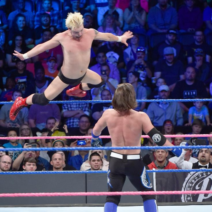 AJ Styles vs. James Ellsworth – WWE World Championtitel Match: Fotos