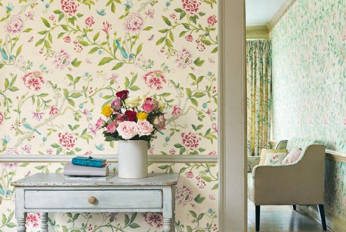 Caverley wallpapers #Sanderson #Portmeirion
