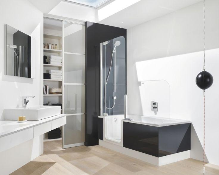 les 25 meilleures ides de la catgorie baignoire douche combo sur pinterest combo de bain et douche baignoire douche et baignoire douche - Salle De Bain Douche Et Baignoire