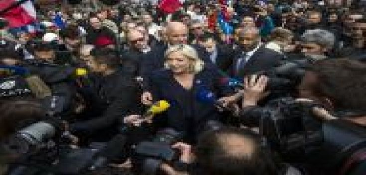 """Paris:                  Far-right leader Marine Le Pen, one of the frontrunners in the French presidential election, has said she would suspend all legal immigration to France if elected President.  The National Front (FN) leader told a rally that she wanted to stop """"a mad, uncontrolled situation"""", reported BBC on Tuesday.  At a rally in Paris, Le Pen said, """"I would decide on a moratorium on all legal immigration to stop this frenzy, this uncontrolled situation that is dragging..."""