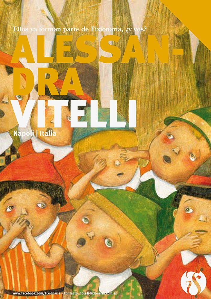 Portfolio: alessandravitelli.blogspot.com Contacto: alessandra_vitelli@libero.it Napoli - Napoli – Italia