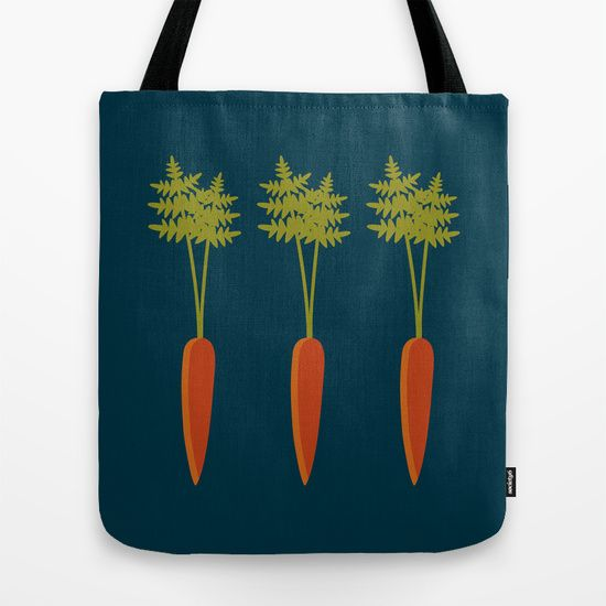 Vegetable Medley Tote Bag by Veronica Galbraith #society6 #ToteBags #SurfaceDesign #PrintDesign #GraphicDesign