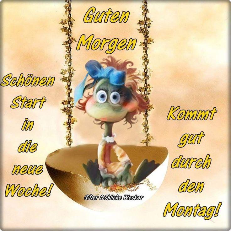 Montag Guten Morgen Grüße