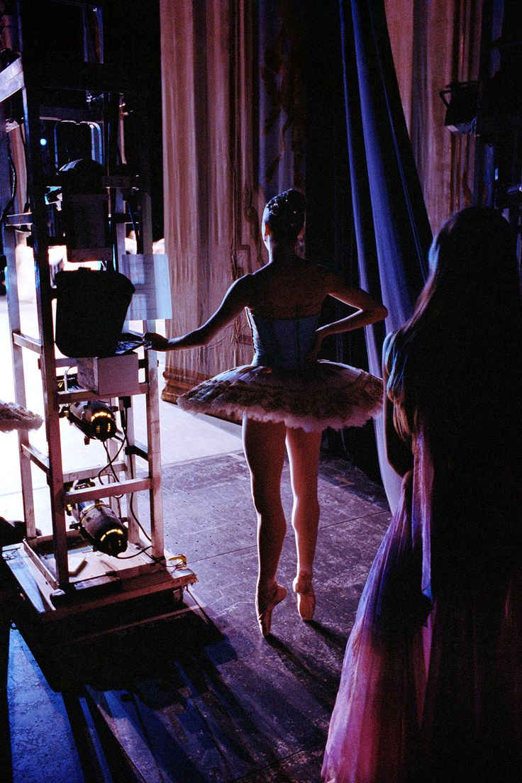Behind the curtain at the New York City Ballet