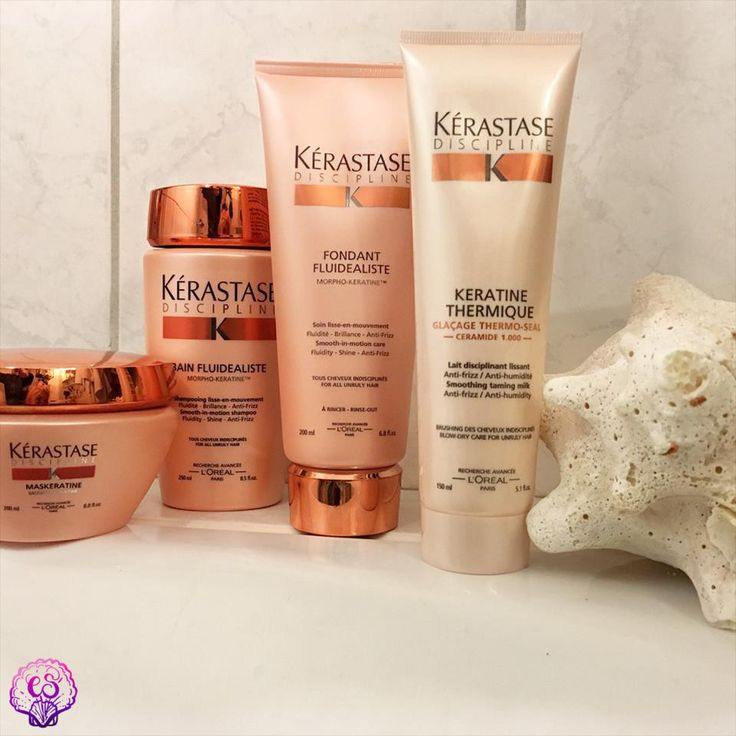 Rebelious hair needs to be tamed! This is why our new favourite is the KÉRASTASE Discipline line. Perfect for wavy and coloured hair, this sulfate-free product wil transform your unmanageable locks into a smooth, frizz-free mermaid mane! <3 #diariesofcitysirens #beauty #nature #kerastase #kerastasediscipline #sulfatefree #antifrizz #hairproducts #maskeratine #bainfluidealiste #fondantfluidealiste