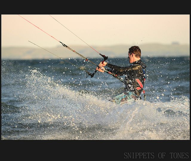 Pacific State : Winter Windsurfers by Rey.M, via Flickr