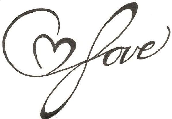 Great idea #love #tattoo #wrist