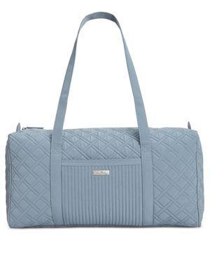 Vera Bradley Large Duffle Bag - Gray