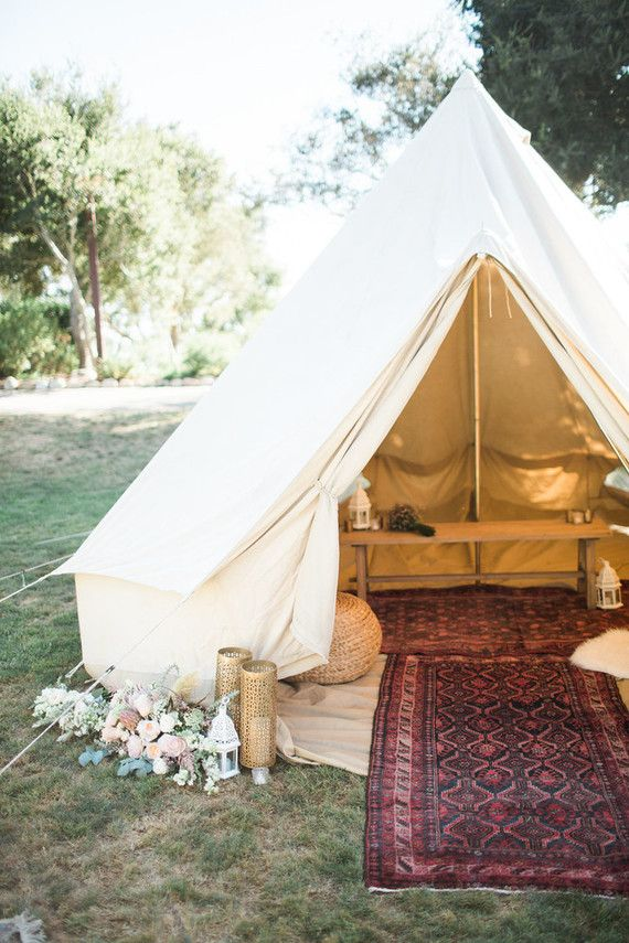 Glamping tent | Wedding & Party Ideas | 100 Layer Cake