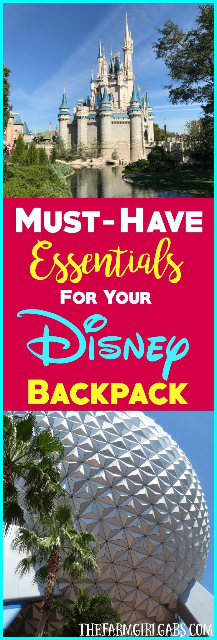 Visiting Walt Disney World with your family? Here are the must-have essentials you need to pack a theme park bag for the perfect day.