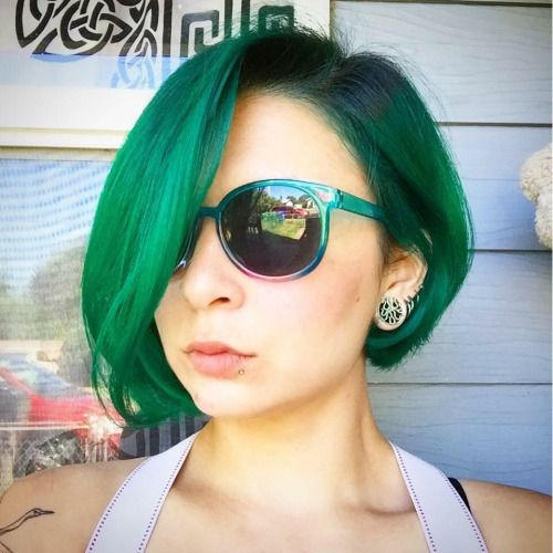 Manic panic Enchanted Forest, green envy, and electric lizard