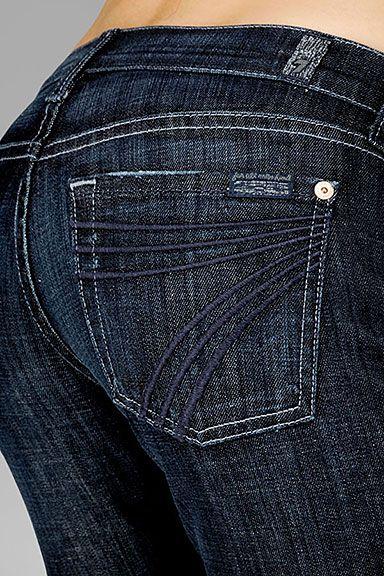 dojo, 7 for all man kind - best jeans ever!  From Saks #WestfieldStyle