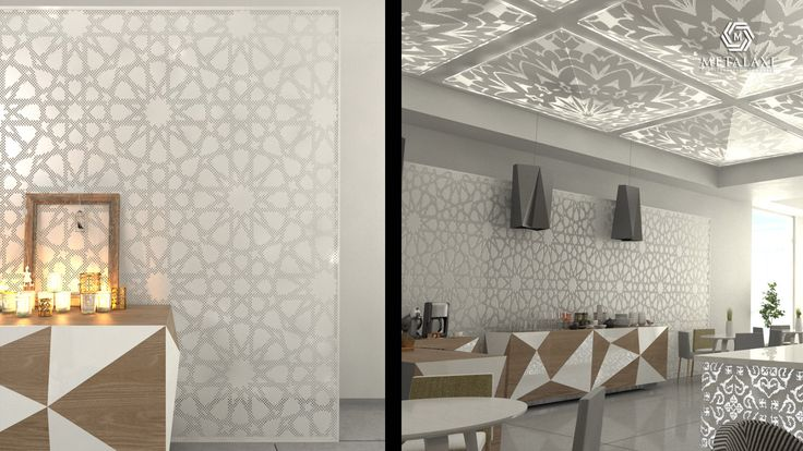 SUSPENDED CEILING - ΨΕΥΔΟΡΟΦΗ Perforated Aluminum suspended ceilings in unique patterns. Metalaxi Innovative Architectural Products. www.metalaxi.com Life is in the details.