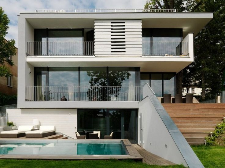 famous modern architecture house  247 best design images on pinterest contemporary and faades Famous Modern Architecture House