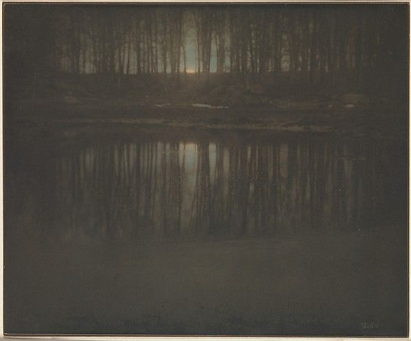 Edward J. Steichen - The Pond - Moonrise