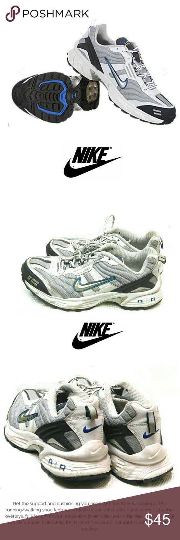 "NIKE AIR COPIOUS RUNNING SNEAKERS NIKE AIR COPIOUS  RUNNING SNEAKERS Pre-Loved  / 10317-001 SZ 8 1/2"" Pls See All Pics. Ask ? If Needed Nike Shoes Sneakers"
