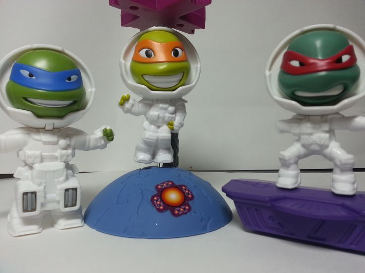 MCDONALDS HAPPY MEAL 2016 TEENAGE MUTANT NINJA TURTLES COLLECTION UNBOXING REVIEW