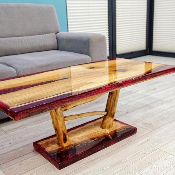 VERKAUFT !!!! Verkauft !!! VERKAUFT!!! Epoxidharz Tisch Tisch Harz Holz Epoxidharz Tisch – …