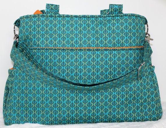 Gorgeous Handmade Diaper Bag From Etsy