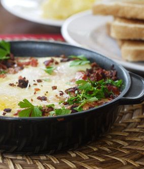 Baked Eggs in Tomato Sauce - Julie Goodwin recipe
