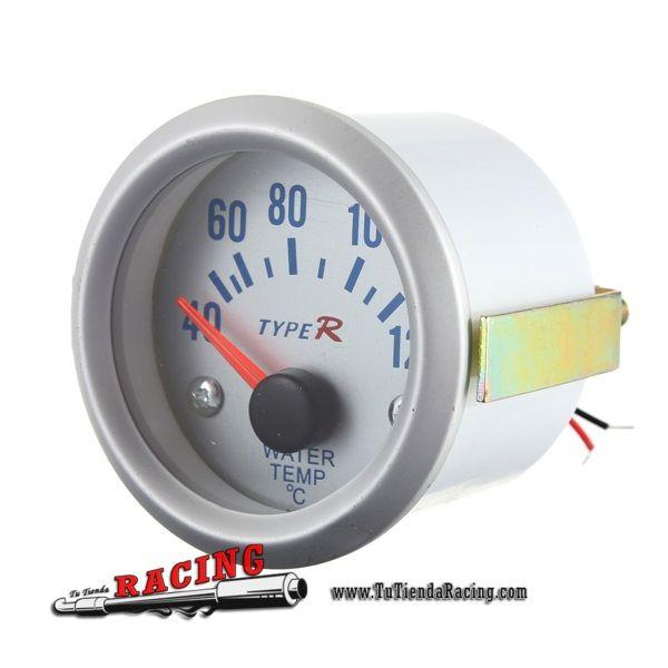 Termómetro Medidor de Temperatura de Agua Radiador para Coche Tuning Racing  52mm 12V - Envío gratuito a toda España - 9,93€