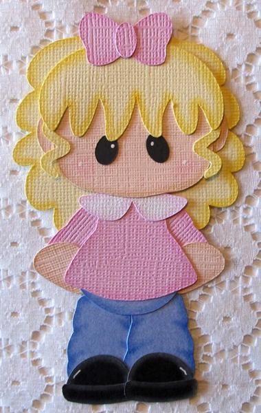 Girl Paper Piecing