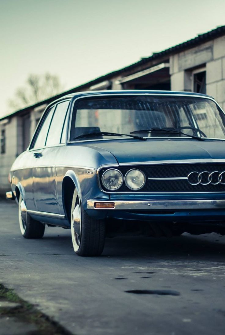 Audi 100LS my first drive /12years old...